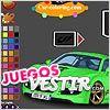 Juegos  coche deportivo para colorear