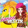 Juegos cool girl y el caballo