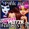 Juegos  la fantasia de hielo rosa 2