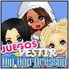 Juegos  el hip hop para vestir