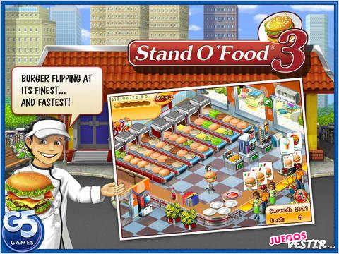 Captura de pantalla del juego Stand O Food 3