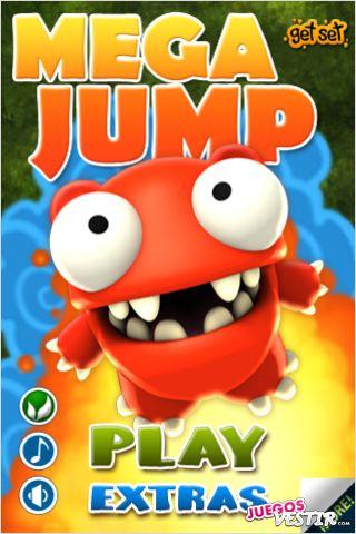 Captura de pantalla del juego Mega Jump