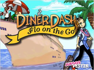 Captura de pantalla del juego Diner Dash: Flo on the Go
